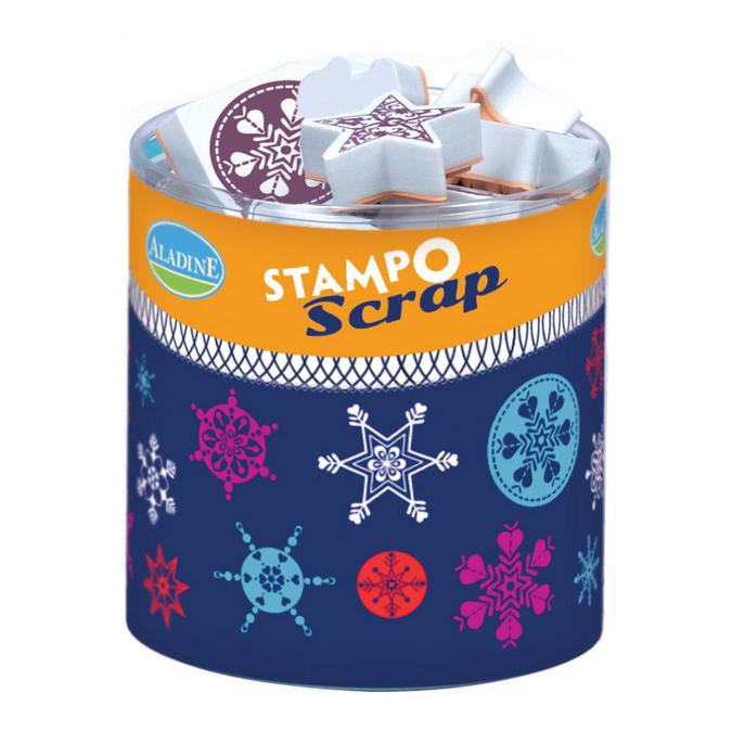 Tampon Stampo Scrap Flocons de neige