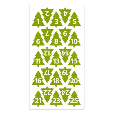 Chiffres sapins en feutrine pour calendrier de l 39 avent artemio chez rougier pl - Chiffres pour calendrier de l avent a imprimer ...