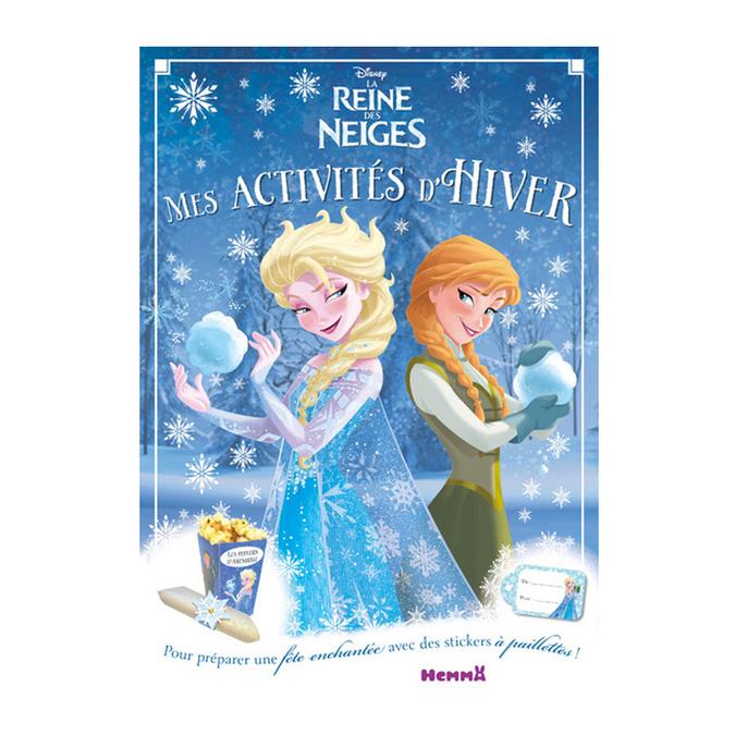 Livre - Mes activités d'hiver La Reine des Neiges