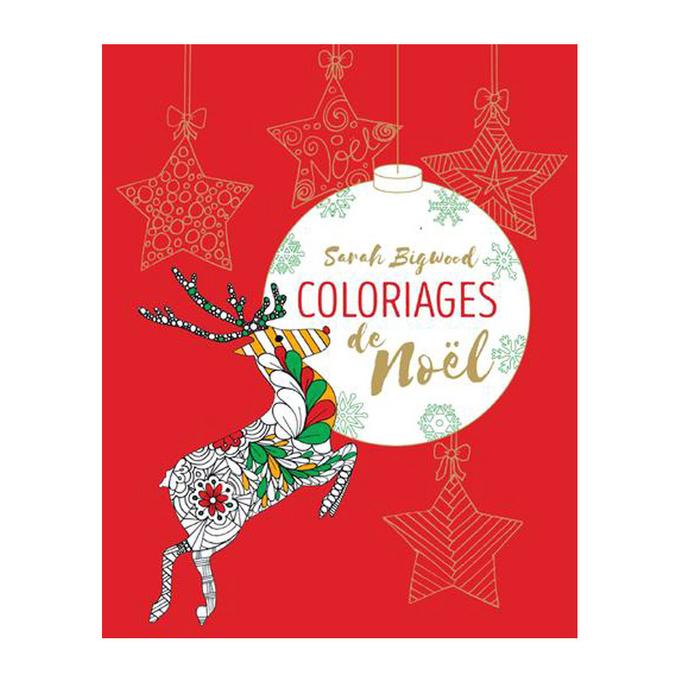 Livre - Mes coloriages de Noël