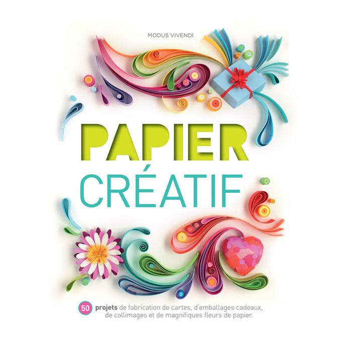 Livre - Papier créatif