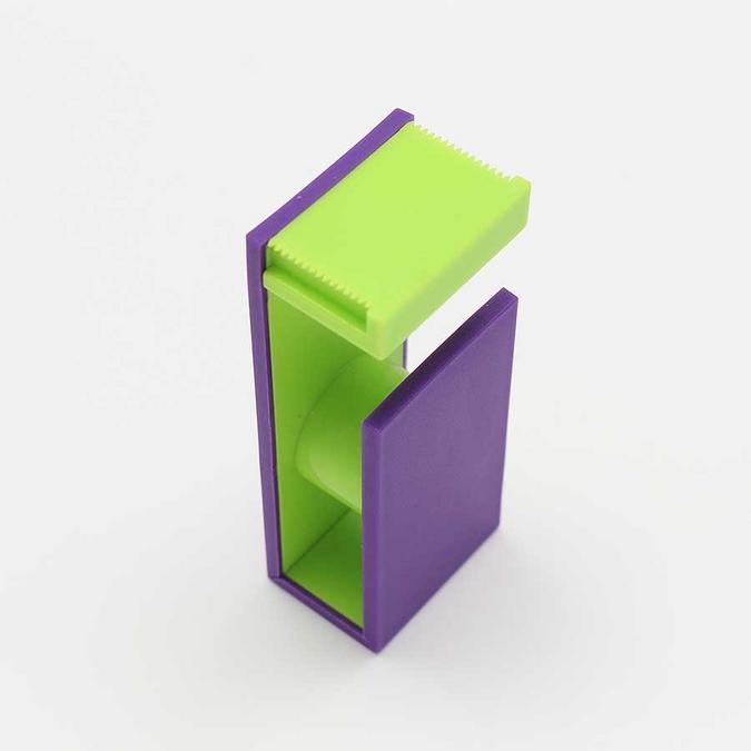 Dérouleur magnétique pour Ruban décoratif adhésif - violet & vert