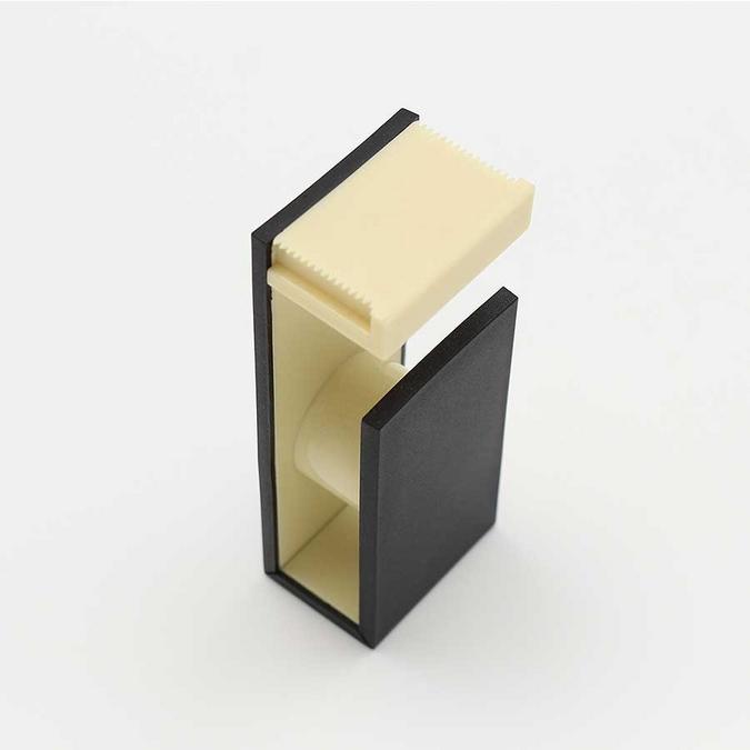 Dérouleur magnétique pour Ruban décoratif adhésif - noir & ivoire