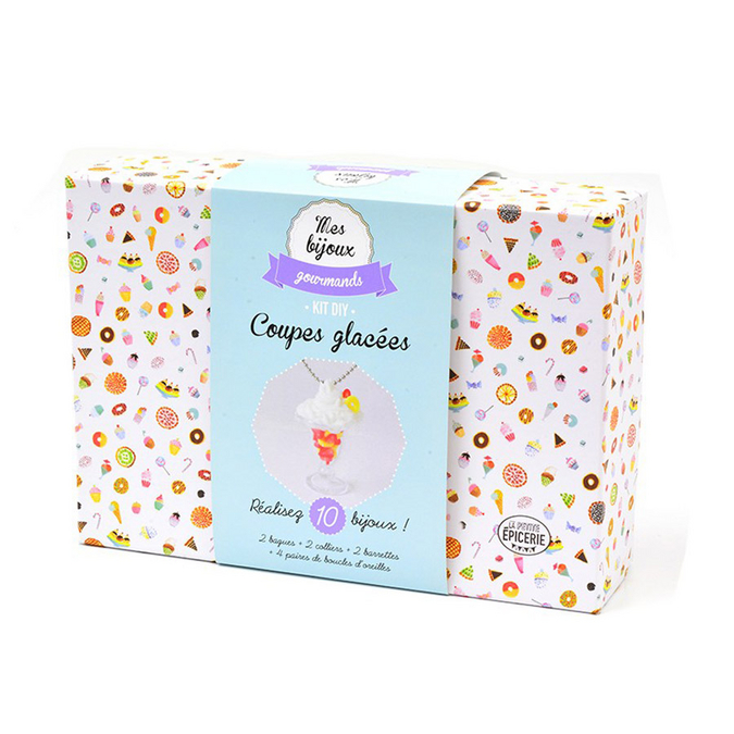 Bijoux gourmands kit coupes de glace