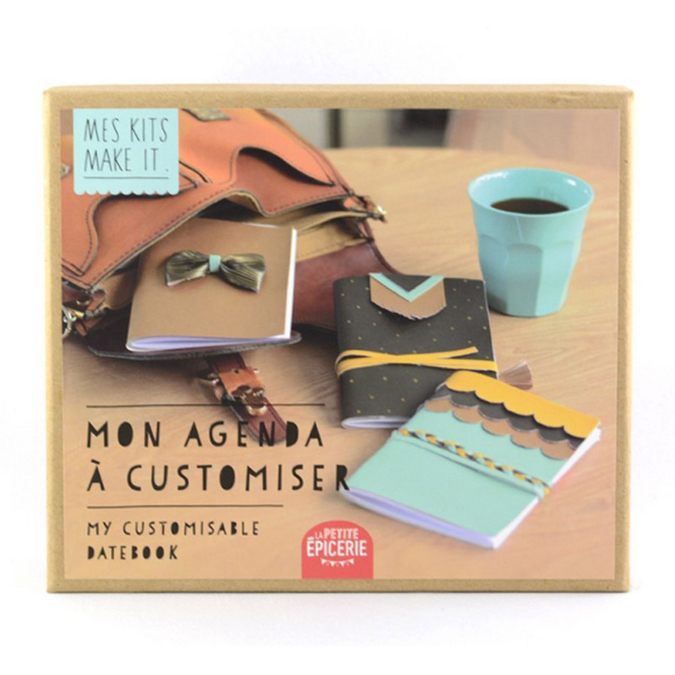 Agenda à customiser Mes kits Make It