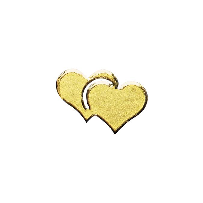 Stickers cœurs or