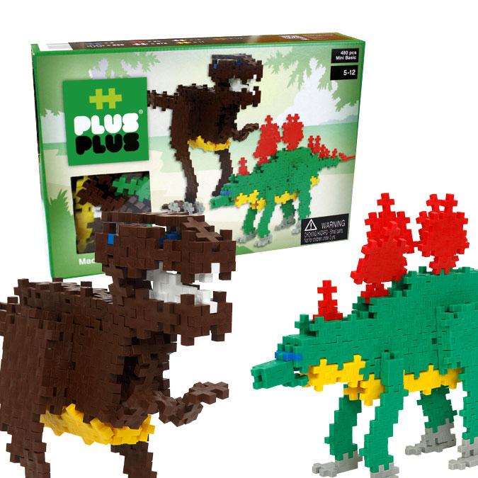 Jeu de construction Mini Basic - Coffret dinosaures - 480 pcs