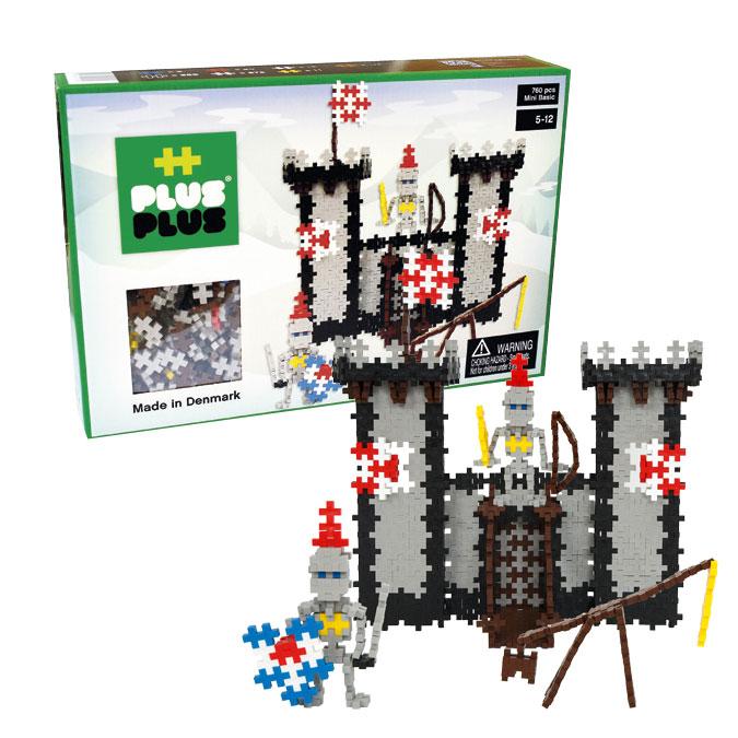 Jeu de construction Mini Basic - Coffret château fort - 760 pcs
