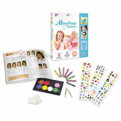 Maquillage & Tattoos - Kit pour enfant