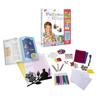 Paillettes strass kit d coratif pour enfants buki for Peinture boiro jeu deffet paillettes