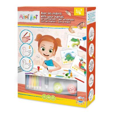Coffret de dessin pour enfant mini art dessins avec les for Mallette couture enfant