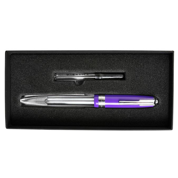 Stylo-plume à réservoir Tempête violet