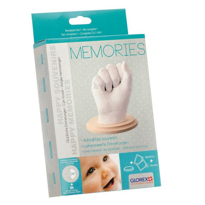 Kit de moulage pour main de bébé - Happy souvenirs