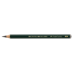 Crayon graphite point large Ø 5,3mm - Castell 9000 Jumbo