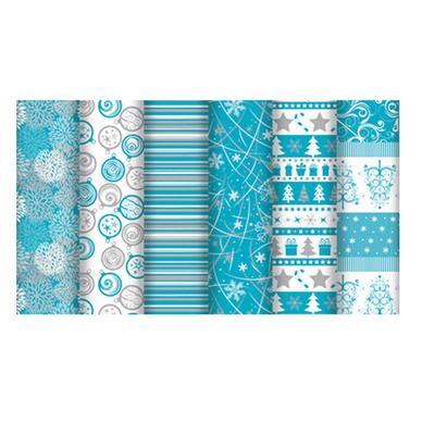 rouleau de papier cadeau alliance no l givr 0 70 x 2 m clairefontaine chez rougier pl. Black Bedroom Furniture Sets. Home Design Ideas