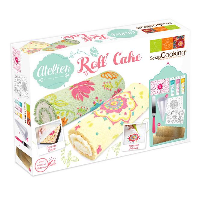 Coffret atelier de cuisine - Atelier Roll Cake
