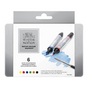 Marqueur d'aquarelle double pointe - set de 6