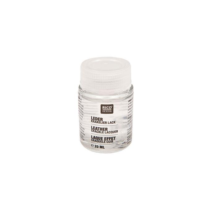 Laque pour le cuir effet craquelé 20 ml