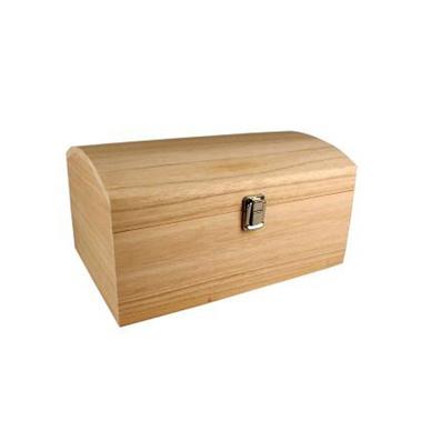 coffre avec couvercle bomb en bois 30 x 20 x 15 cm ctop chez rougier pl. Black Bedroom Furniture Sets. Home Design Ideas