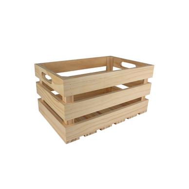 caisse de rangement vintage en bois 27 x 17 x 14 cm ctop chez rougier pl. Black Bedroom Furniture Sets. Home Design Ideas
