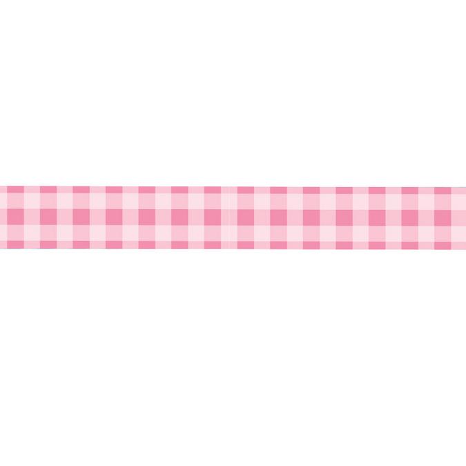 Dévidoir ruban adhésif vichy rose - 1,5 cm x 10 m