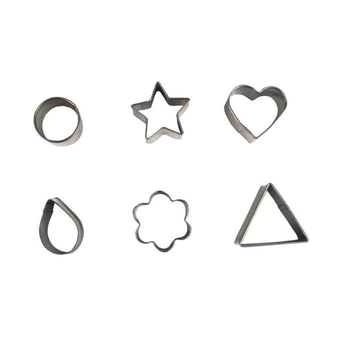 Emporte-pièces géométriques x 6 pcs