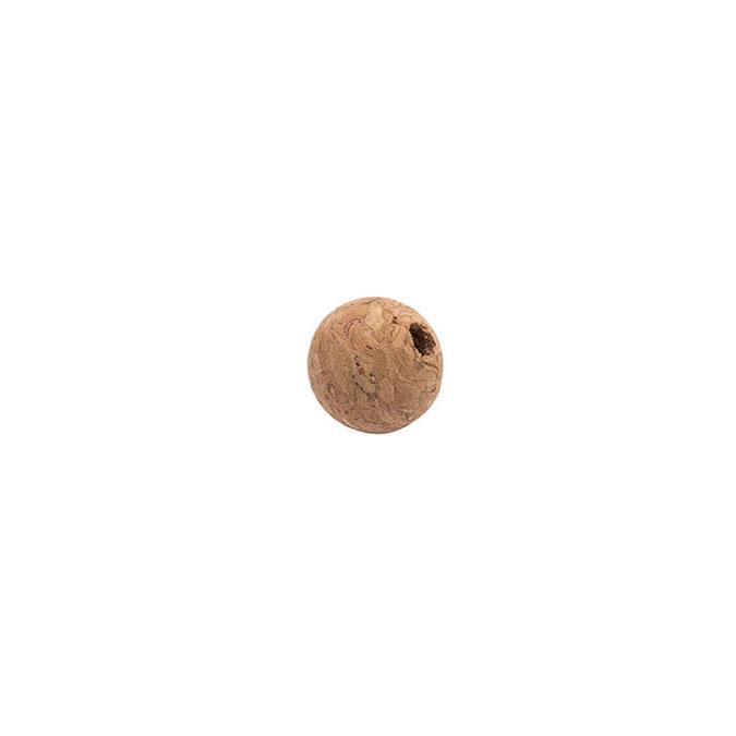 Boule de liège percée Ø 2 cm - par 10