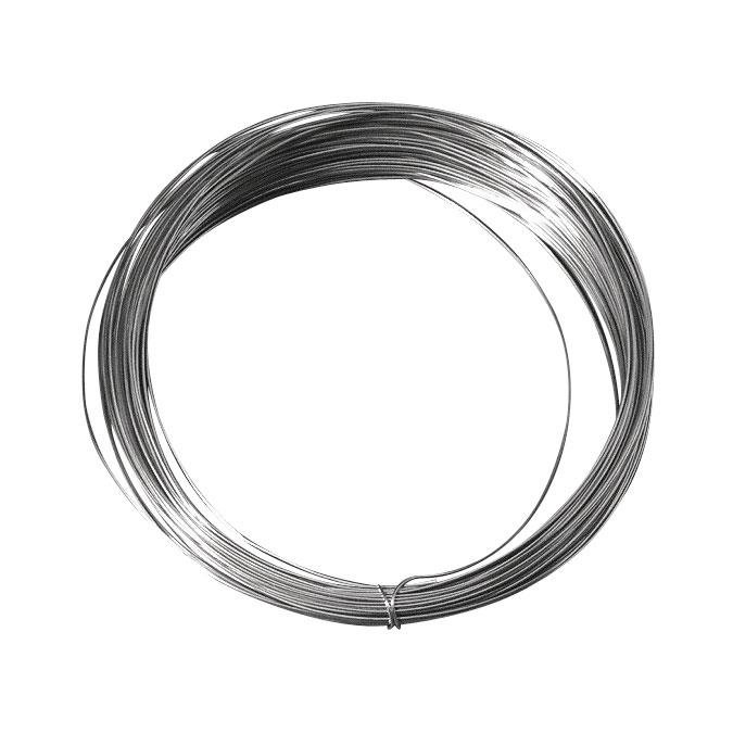 Fil de cuivre argenté 1,2 mm x 3 m