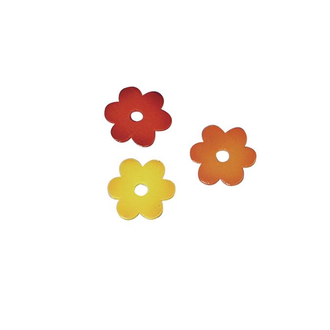 Petites fleurs en bois