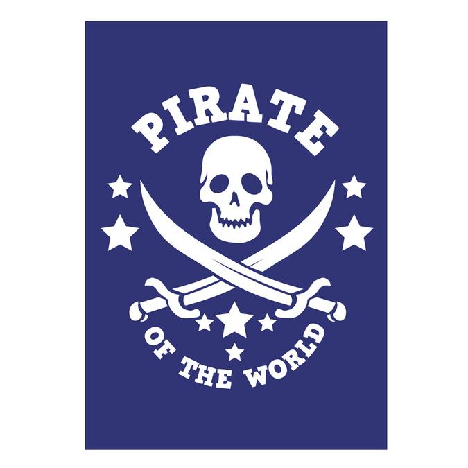 Pochoir My Style A5 pirate