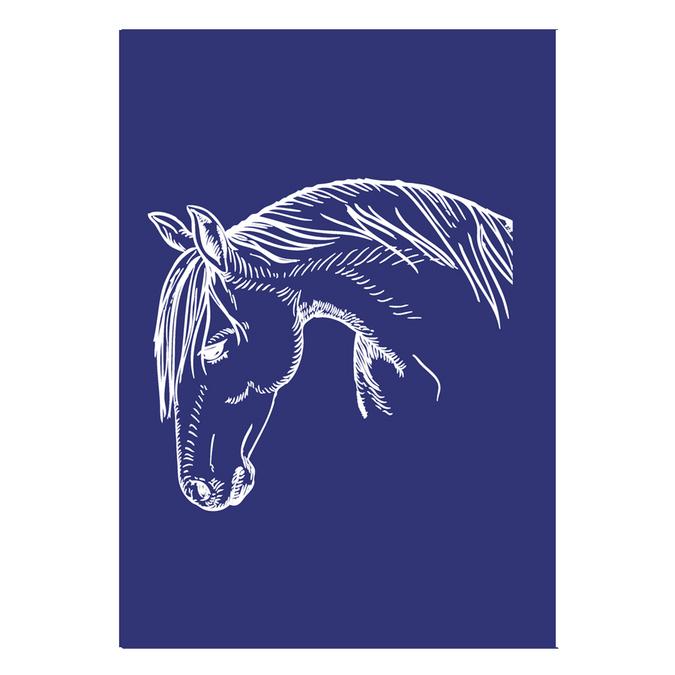 Pochoir My Style A4 cheval