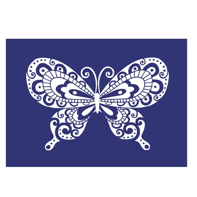 Pochoir My Style A4 papillon