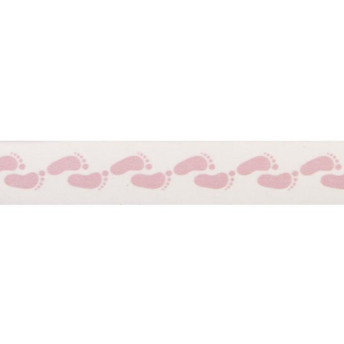 Masking Tape pieds de bébé rose