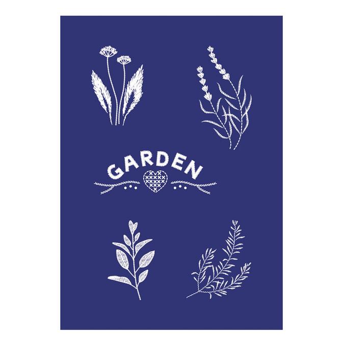 Pochoir My Style A5 garden
