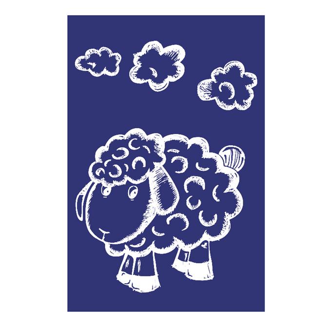 Pochoir My Style A5 mouton