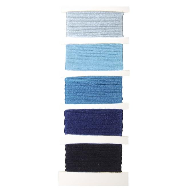 Fil coton Stitch & knot bleu Bleu