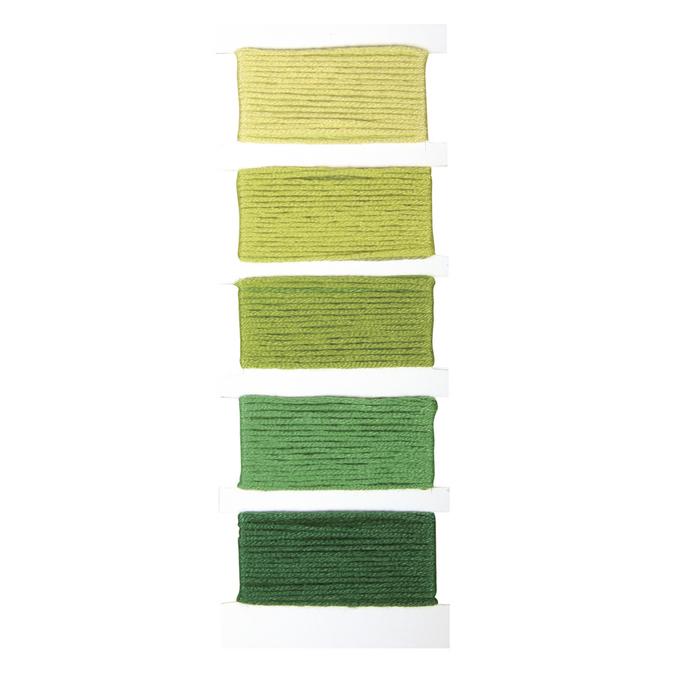 Fil coton Stitch & knot vert Vert