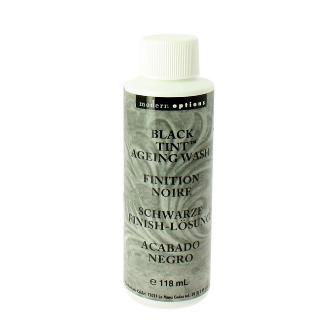 Patine de finition noir 118 ml