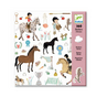 Stickers chevaux x 160 pcs