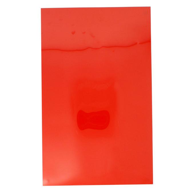 Film vinyle transfert textile thermocollant - Effet brillant - 34 x 21 cm Vert pomme