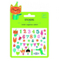 Mini stickers puffy anniversaire x 19 pcs