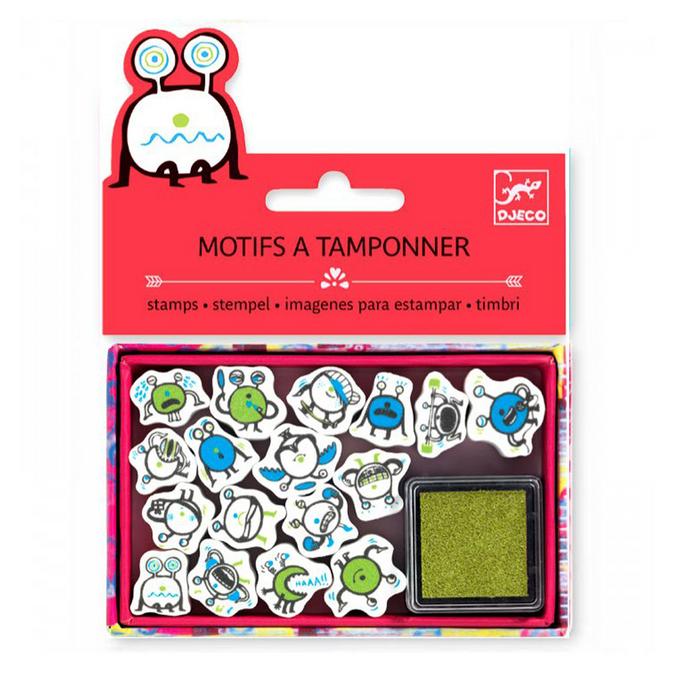 Mini tampons emoticônes x 17 pcs