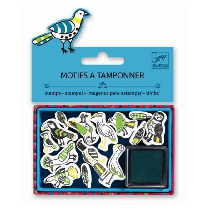 Mini tampons plumes x 14 pcs
