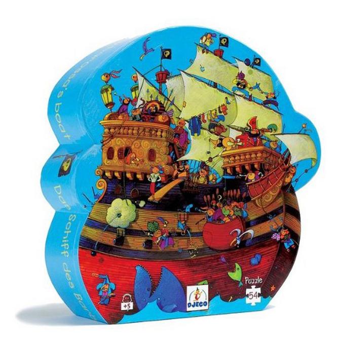 Puzzles silhouettes Le château de Barberousse 54 pcs