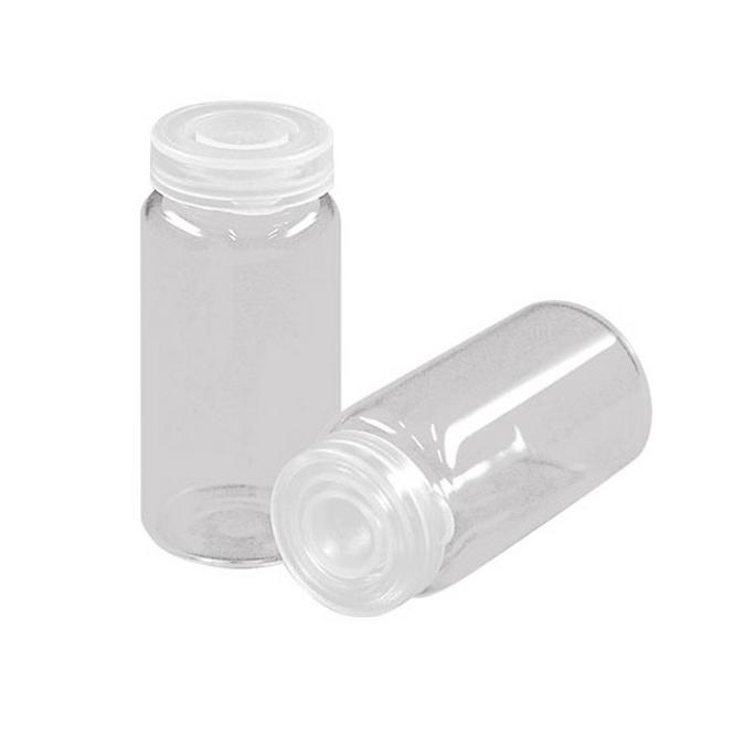 Flacon à bouchon en verre 2,2 x 4,8 cm