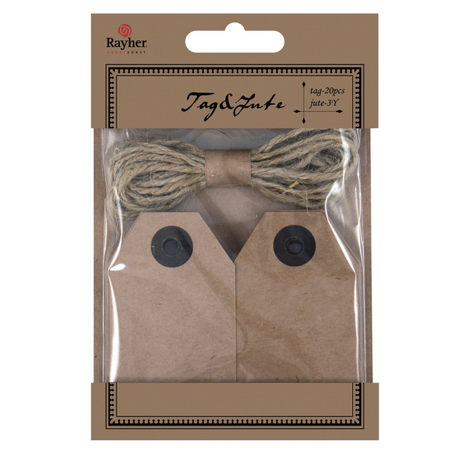 Tags and Jute
