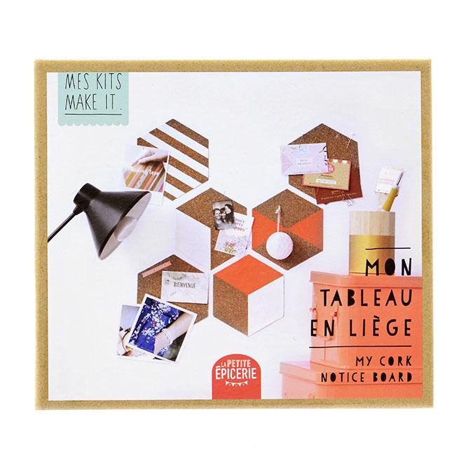 Mes Kits Make It - Mon tableau en liège