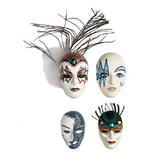 Moules masques déco x 4 pcs