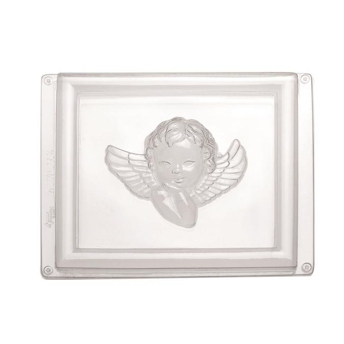 Moule cadre ange 17,5 x 20,5 cm