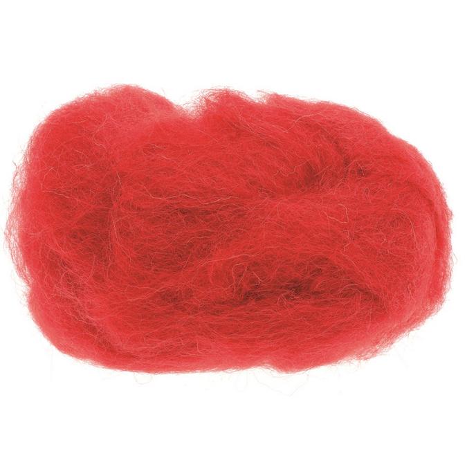 Laine de mouton 30g rouge